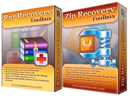 Recovery Toolbox for RAR (восстановление архивов) скачать
